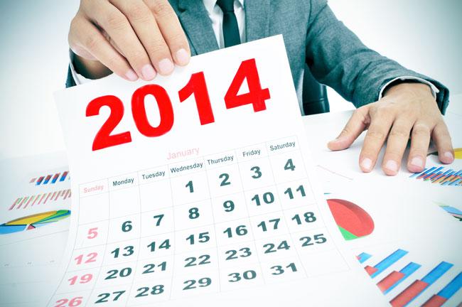 2014年、部屋に飾りたいカレンダーでわかる、あなたがなりたい理想の自分