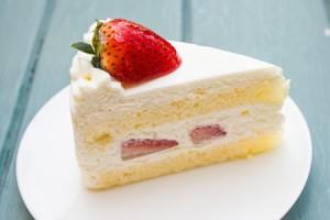 ショートケーキの食べ方でわかる五月病危険度