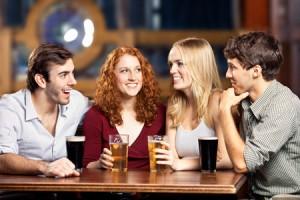 飲み会の席順でわかる恋の成功率!