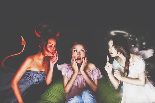 """【12星座あいうえお作文】天秤座の""""てん""""……「天使に見える? むしろ私は悪魔です!」"""