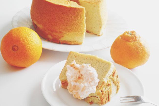 4月の新月レシピ『デコポンと人参のシフォンケーキ』でおいしくダイエット!