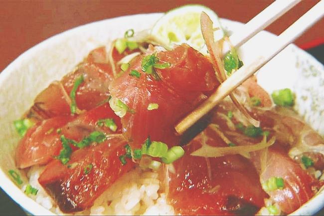 4/27~5/4の満月ダイエットレシピ『マグロの漬け丼』(390Kcal)