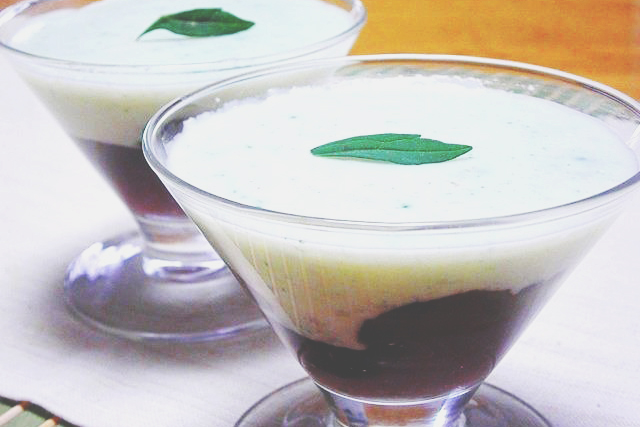 6/17~6/24の上弦の月ダイエットレシピは『カシスのココナッツプリン』(260Kcal)
