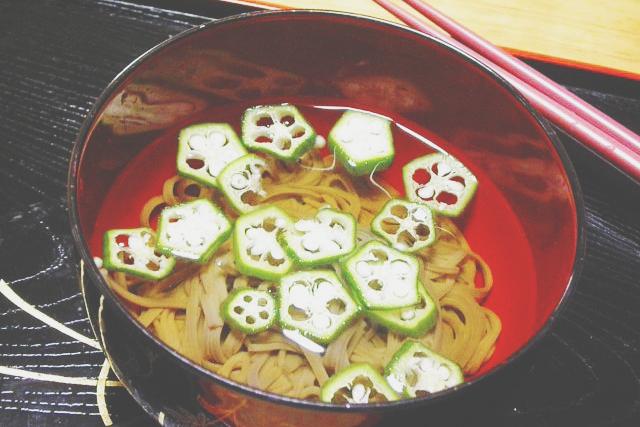 6/25~7/2の満月ダイエットレシピは『オクラの蕎麦汁』(120Kcal)
