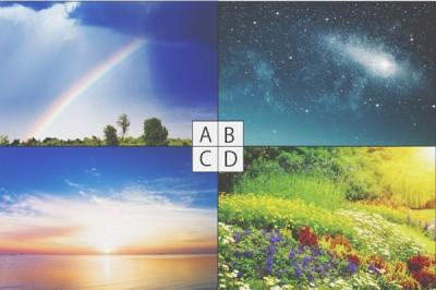 【心理テスト】夢で見た美しい光景はどれ? 答えでわかる精神疲労度