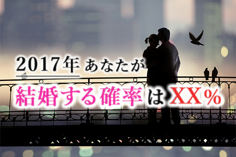 結婚占い | 2017年あなたが結婚する確率は何%?結婚に関する運勢をズバリ明らかにします!【無料占い】