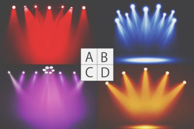 【心理テスト】浴びたいスポットライトの色でわかる、人に与える印象