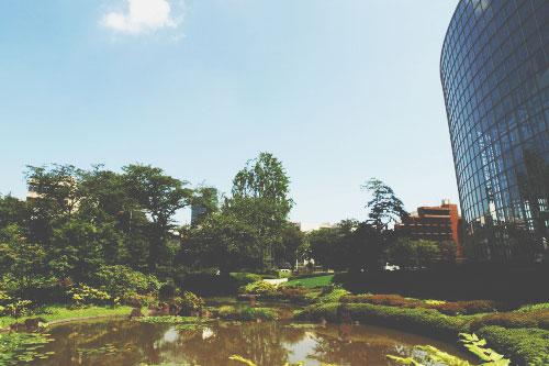 【GW東京パワースポット】金運アップは『毛利庭園』、新しい財布を持って訪れて!