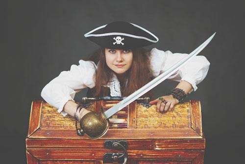 【心理テスト】海賊が海に落とした宝物でわかる、これから拓けていくあなたの運勢