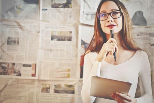 12星座【もしも週刊誌記者だったら?】蟹座は独占インタビューをゲットする名人記者に!?