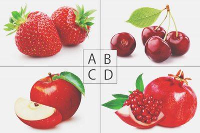 【心理テスト】赤いフルーツ、どれが好き? 答えでわかるあなたが持つ恋愛魔力