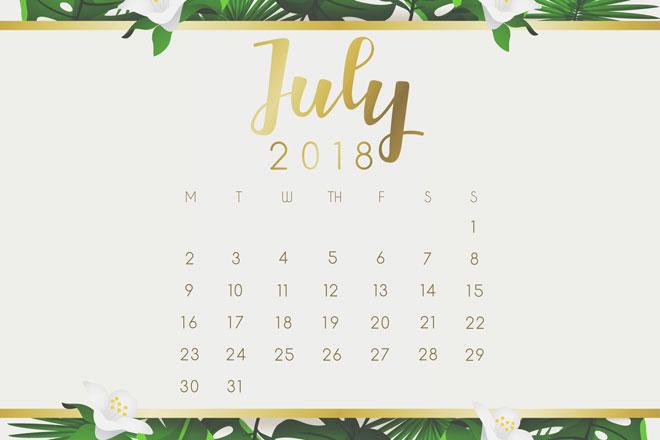 【7月の開運カレンダー】13日はお金に関することが吉、28日は成功体験を振り返ろう!