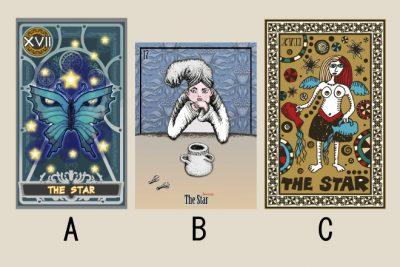 【タロット占い】選んだ「星」のタロットカードでわかる、あなたを導く人