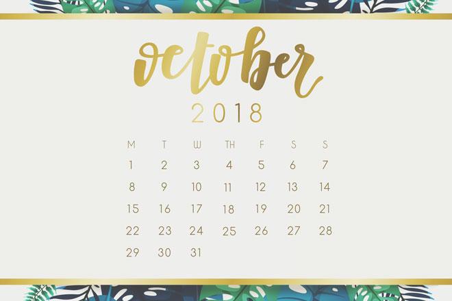 【10月の開運カレンダー】10月7日は、オシャレするとラッキーが舞い込んでくる日!