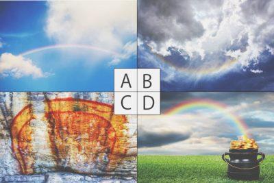 【心理テスト】選んだ虹の写真でわかる恋の未来