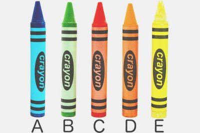 【心理テスト】選んだクレヨンの色でわかる望んでいる生き方
