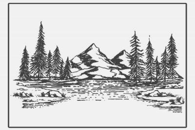 【心理テスト】山の絵に描き込むとしたら? 答えでわかる苦難を乗り越えるときに必要なもの