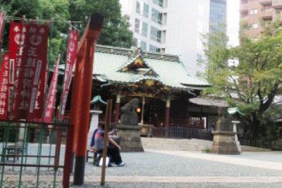 瀧天貴の【山手線パワースポット】渋谷は恋愛・人気・金運アップの街、『金王八幡宮』参拝が大吉!