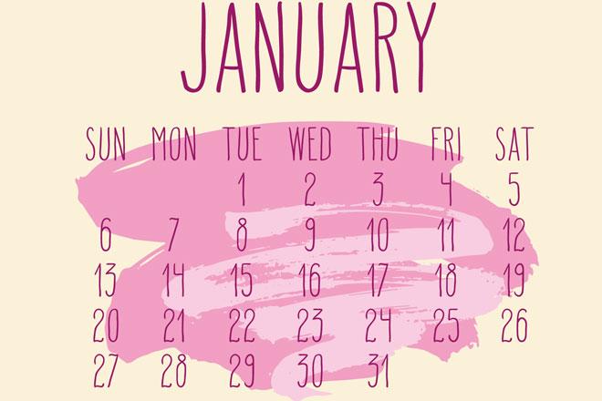 【1月の開運カレンダー】1月6日は2019年の夢を掲げ、それに向かって行動を始めたい日!