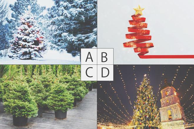 【心理テスト】好きなクリスマスツリーでわかる、2019年に訪れる幸せな出来事