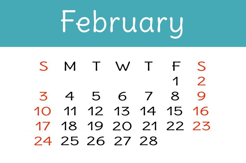 【2月の開運カレンダー】2月1日、2日、10日は開運アクションで金運アップが期待できる日!