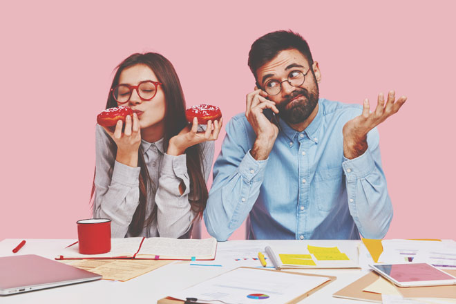 【心理テスト】仕事中に食べたいおやつは? 答えでわかるモチベーションアップの方法