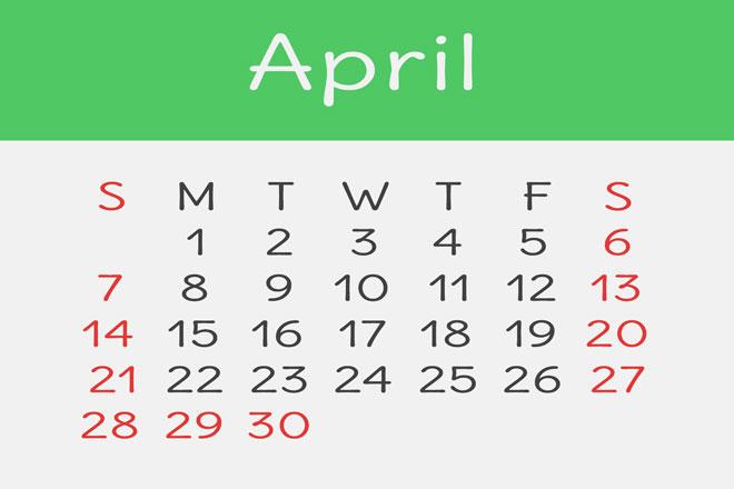 【4月の開運カレンダー】4月11日は、お金につながるアイデアが生まれやすい日!