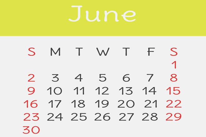 【6月の開運カレンダー】6月13日・25日は金運アップ、副業スタートにも吉!