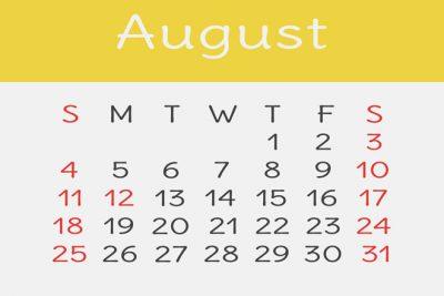 【8月の開運カレンダー】夏の出会いは8月8日以降、合コン&紹介はこの時期が吉!