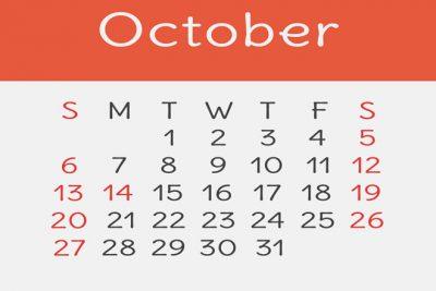 【10月の開運カレンダー】10月8日は金運良好、新しいものを買うなら午後が吉!