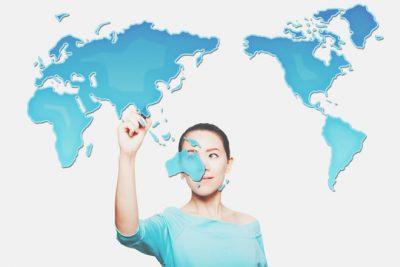 【心理テスト】世界地図に起きた異変とは? 答えでわかる、あなたと周りとのずれ