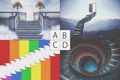 【心理テスト】「大人の階段」はどれ? 答えでわかる、あなたの上手な育て方