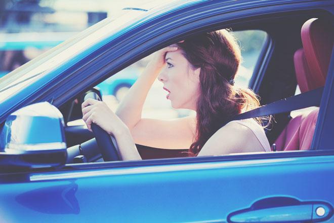 血液型【車の運転イラッと】あるある A型はルール違反を見たとき、B型は予想外の渋滞!