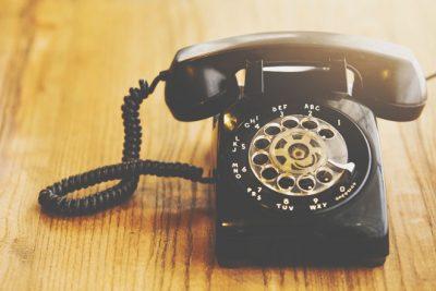 【10月の開運壁紙】恋愛運アップは「電話」の写真!
