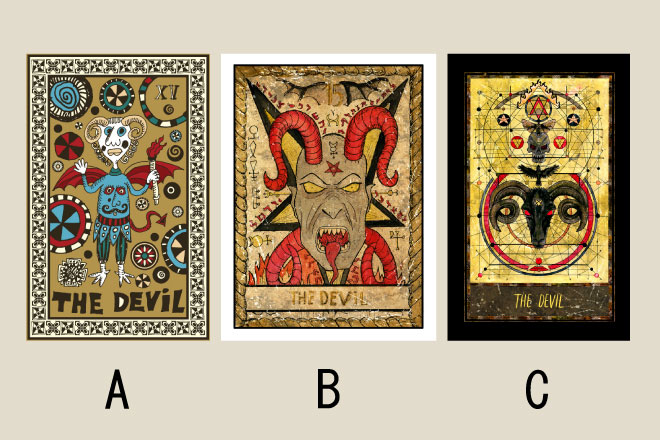 【タロット占い】選んだ「悪魔」のカードでわかる、あなたの小悪魔タイプ