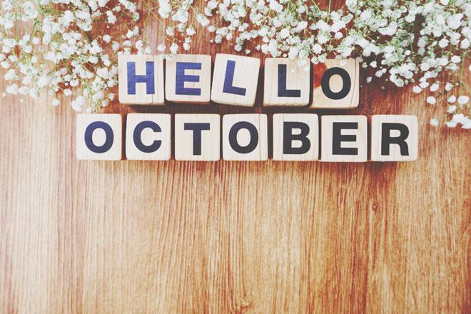 【10月の運勢まとめ】今月の運勢、恋愛運、開運アクションをチェック!