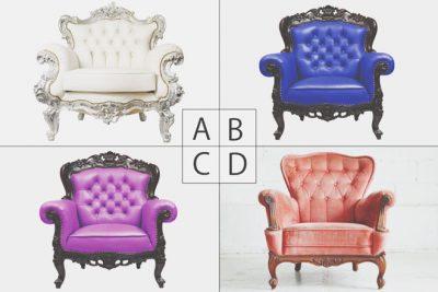 【心理テスト】男性が座っている椅子の色でわかるあなたの運命の人