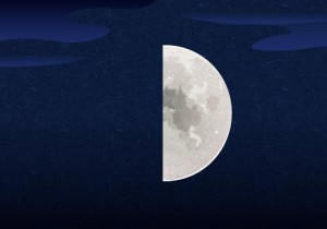 04上弦の月