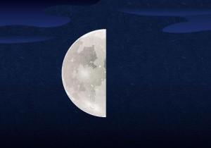 14下弦の月