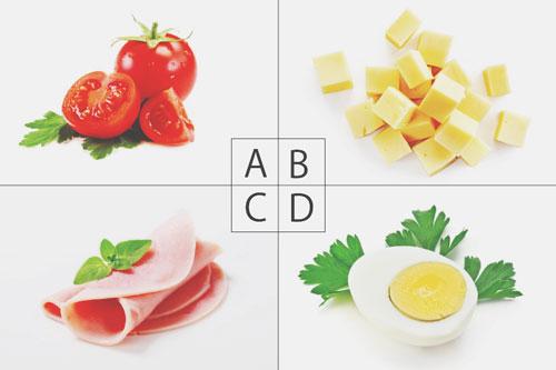 【心理テスト】サラダの彩りはどれにする? 答えでわかる恋する異性と出会う場所